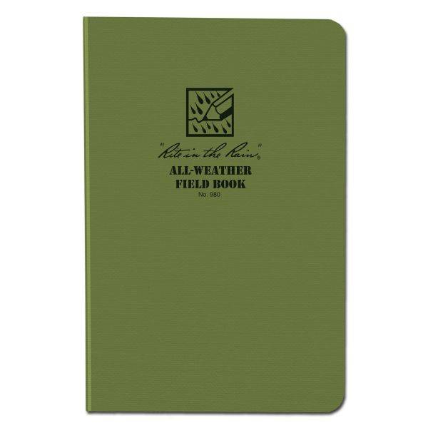 Rite in the Rain Tactical Field Book 980 vert olive
