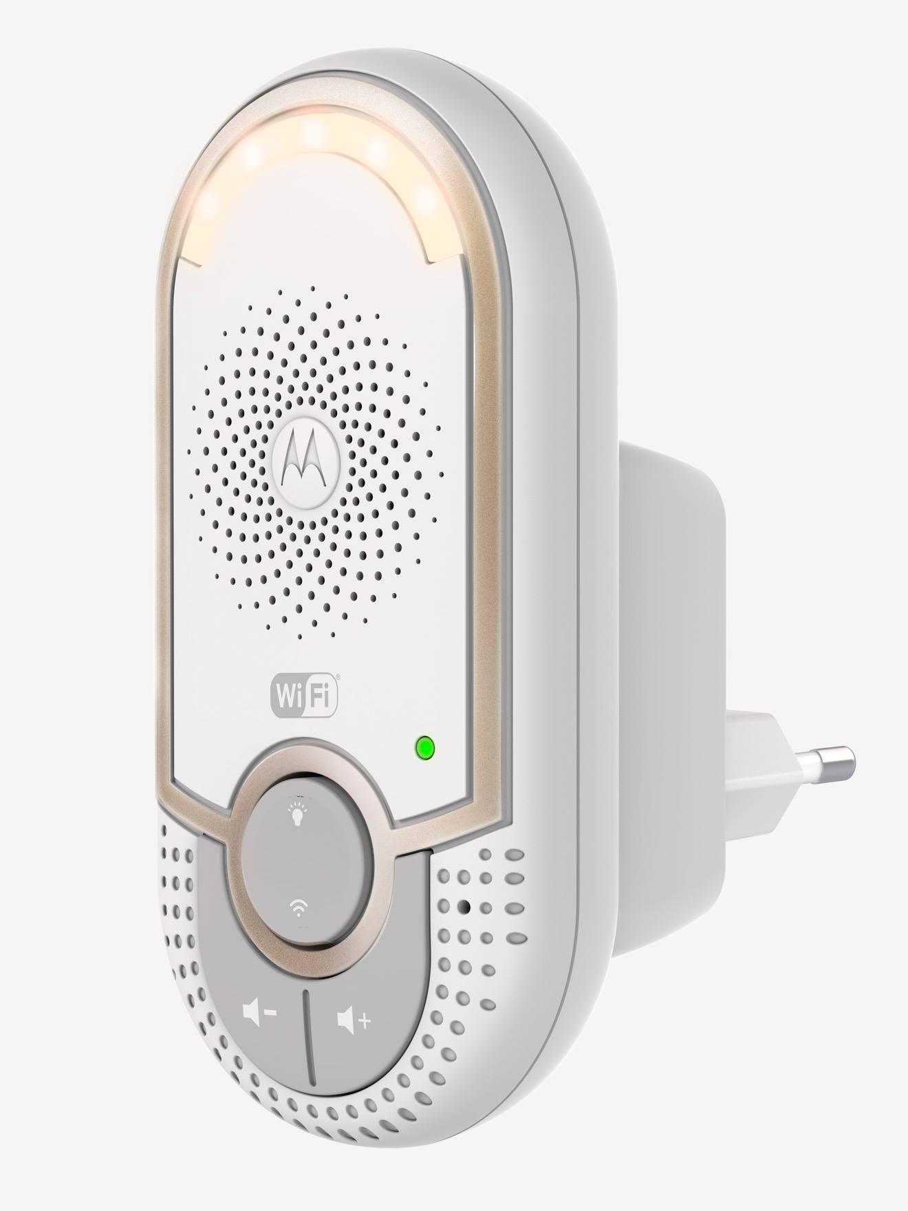 motorola babyphone wi-fi mbp 162 motorola blanc