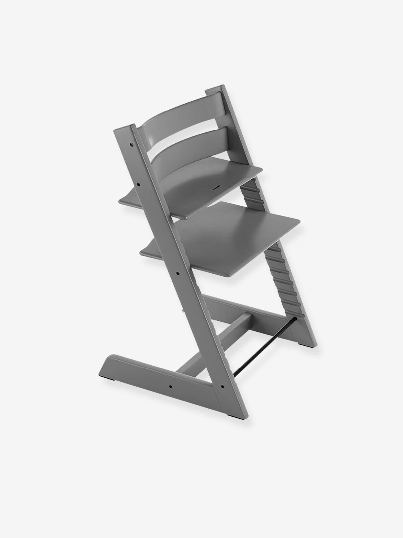 stokke chaise haute tripp trapp stokke gris tempête