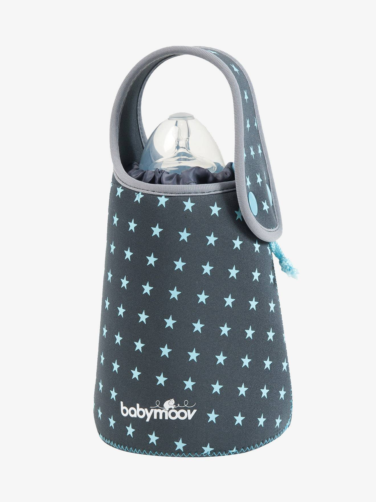 babymoov chauffe-biberon autonome babymoov star gris/étoiles