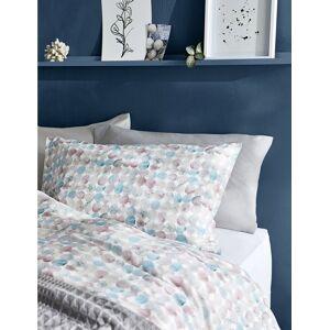 Marks & Spencer Parure de lit à pois, dotée de la technologie Comfortably Cool - Blanc - Lit simple (90 cm x 200 cm)