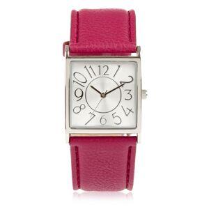 Marks & Spencer M&S; Collection – Montre-bracelet à large cadran carré - Violet
