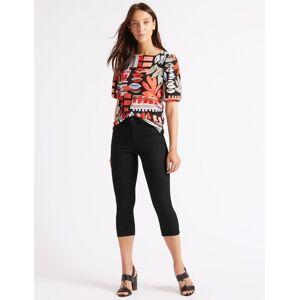 Marks & Spencer Pantacourt en jean coupe très skinny taille normale - Noir - 36