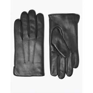 Marks & Spencer Gants en cuir, dotés de la technologie Thermowarmth™ - Noir - M