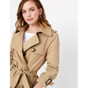 Marks & Spencer PETITE– Manteau croisé - Jaune - 42