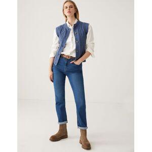 Marks & Spencer Jean coupe droite en Tencel™ - Indigo - 42