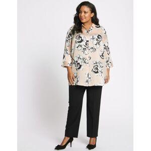 Marks & Spencer CURVE– Pantalon coupe droite - Noir - 46