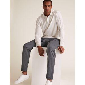 Marks & Spencer Jogging en coton - Noir - 50-52 (100-104 cm de tour de taille)