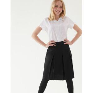 Marks & Spencer Jupe à plis permanents - Noir - 7-8 ans