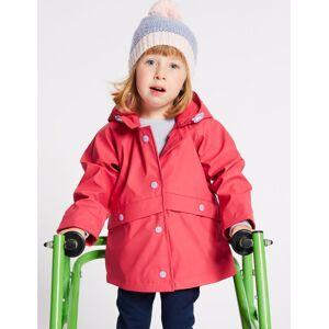 Marks & Spencer Manteau adapté style pêcheur, facile à enfiler (du 3mois au 7ans) - Rose - 6-7 ans