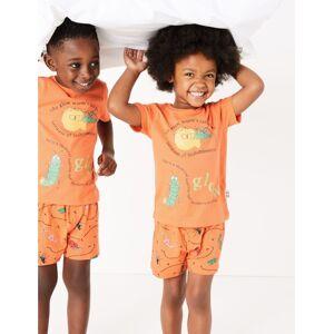 Marks & Spencer Pyjama à motif ver luisant de Roald Dahl™ & NHM (du 1 au 7ans) - Orange - 6-7 ans