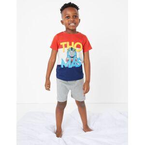 Marks & Spencer Pyjashort 100% coton à motif Thomas et ses amis™ (du 1 au 7ans) - Rouge - 12-18 mois