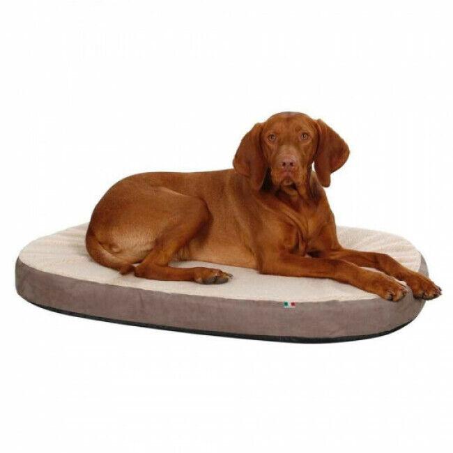 Kerbl Matelas à mémoire de forme ovale pour chien Kerbl Taille L