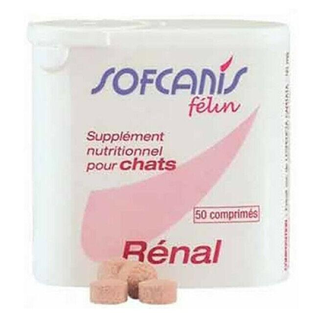 Moureau Complément alimentaire Sofcanis pour chat Renal boîte 50 comprimés