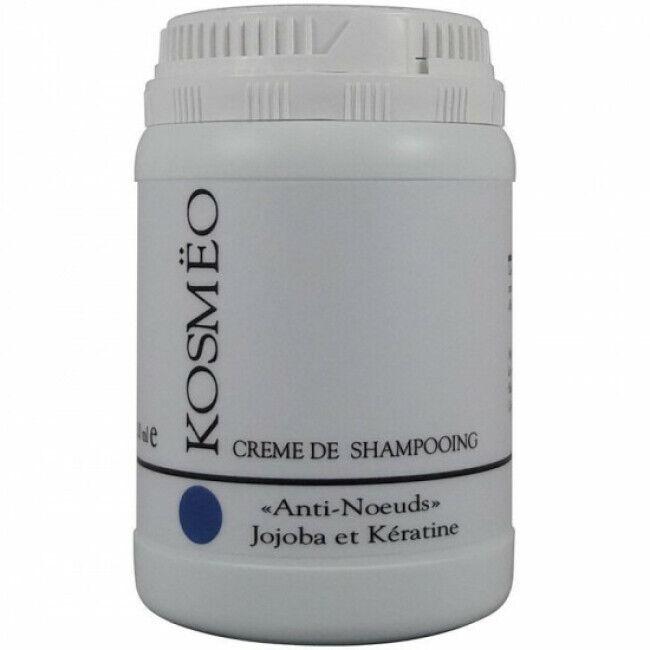 Kosmeo Crème de shampooing Kosmëo anti noeud jojoba et kératine pour chien et chat Pot de 250 ml