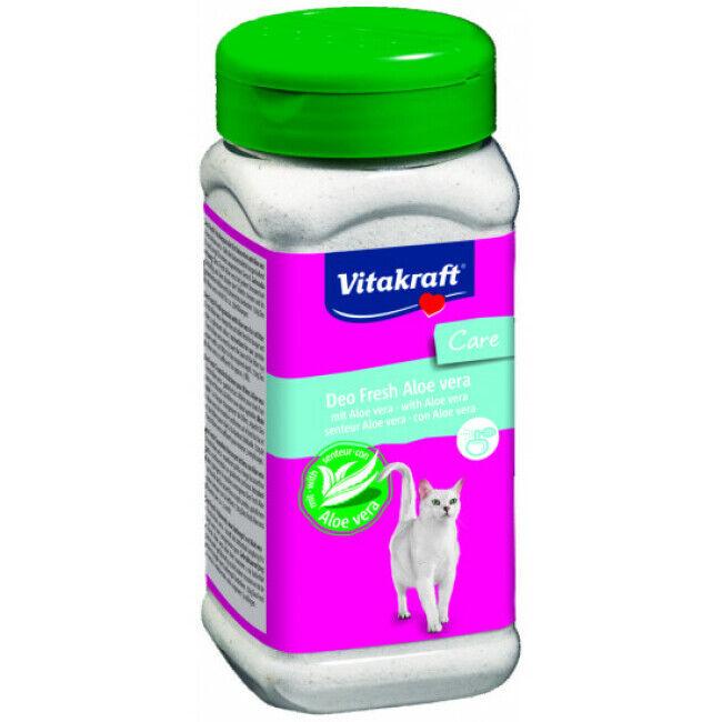 Vitakraft Désodorisant Deo Fresh en poudre Vitakraft pour litière Parfum Aloe Vera Contenance 720 g