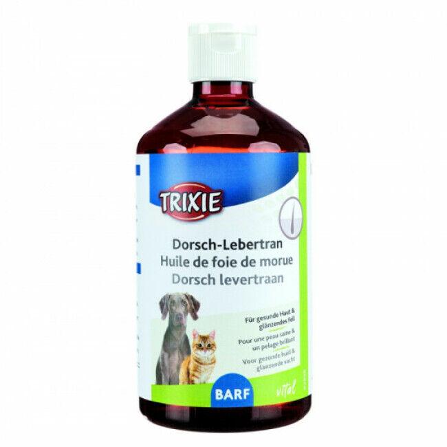 Trixie Huile de foie de morue pour chiens et chats Trixie 500 ml
