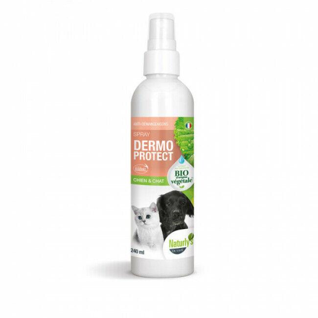 Naturlys Lotion Dermo Protect Bio Naturlys beauté du poil pour chiens et chats Flacon 240 ml