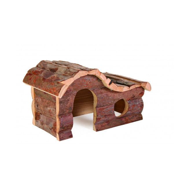 Trixie Maison Hana Natural Living Trixie pour rongeurs Longueur 31 cm Largeur 19 cm Hauteur 19 cm (Cochons d'inde)