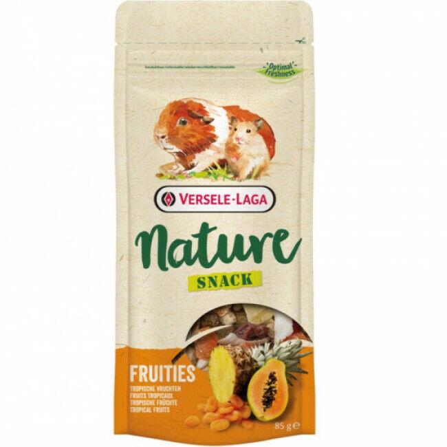 Versele Laga Mélange de fruits Nature Snack Fruities Versele Laga pour rongeurs 85 g