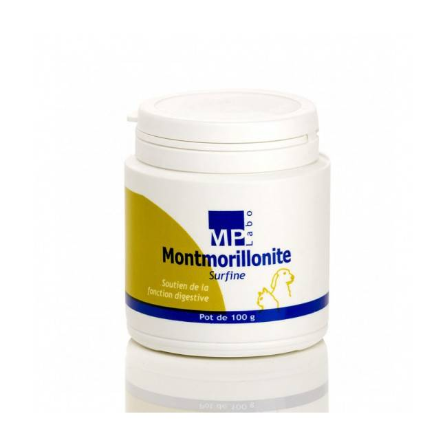 MP Labo Montmorillonite Compléments alimentaires anti-diarrhée chiens et chats