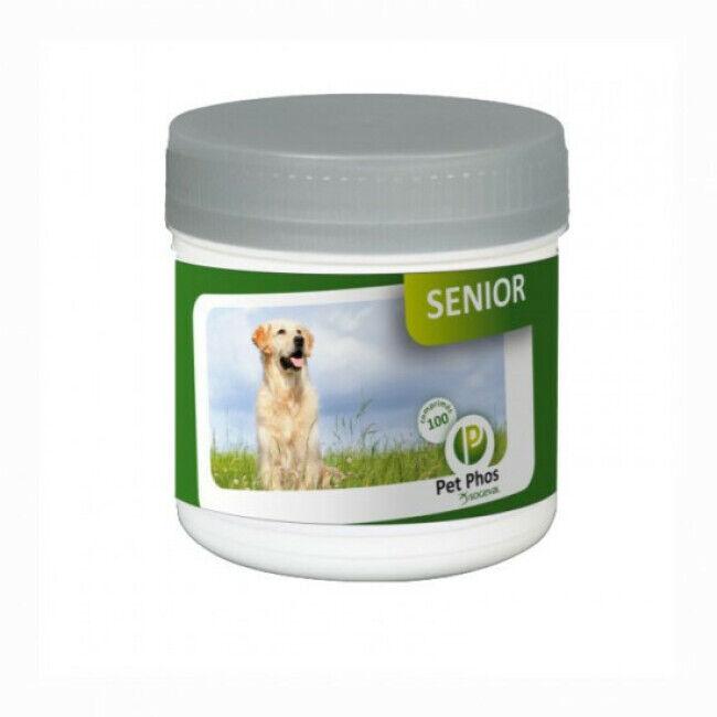 Ceva Pet-Phos Canin Senior Compléments alimentaires pour chiens agés 100 comprimés