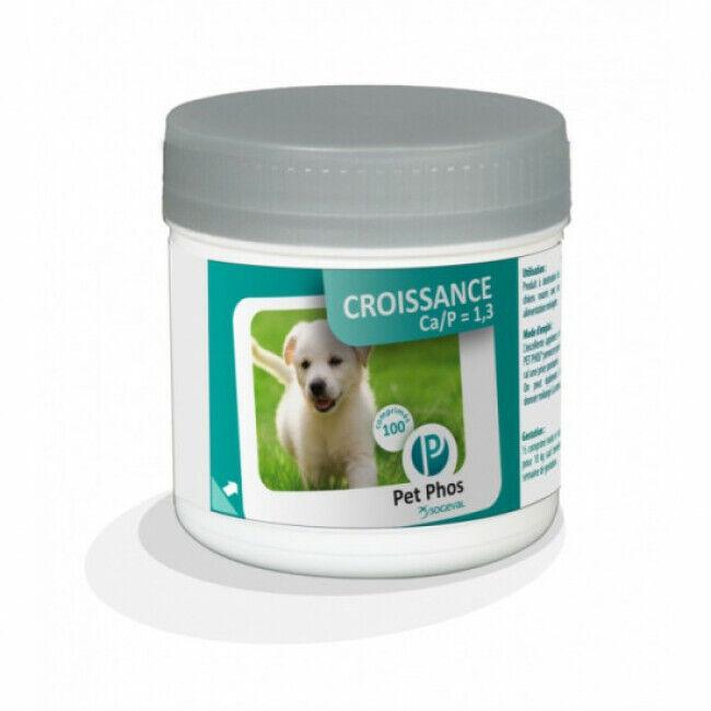 Ceva Pet-Phos CA/P=1,3 Compléments alimentaires Croissance pour chiens Boîte de 100 comprimés