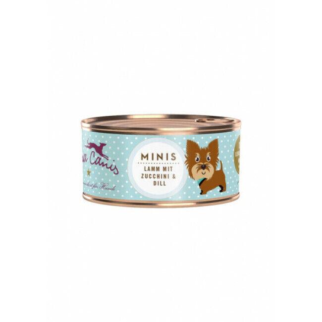 Terra Canis Pâtée sans céréales pour petit chien à l'agneau Terra Canis Mini Boîte 100 g