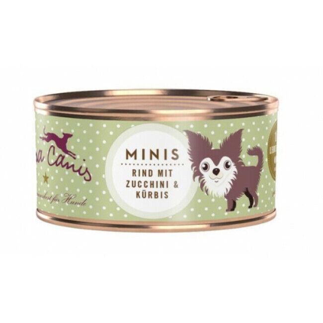 Terra Canis Pâtée sans céréales pour petit chien au boeuf Terra Canis Mini Boîte 100 g