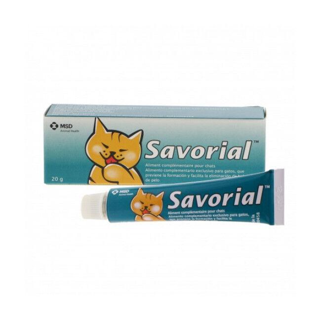 MSD Savorial Compléments alimentaires anti boules de poils pour chats