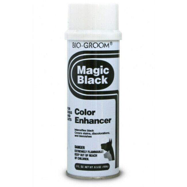 Bio Groom Spray Magic Black Bio Groom poudre noire pour pelage animaux