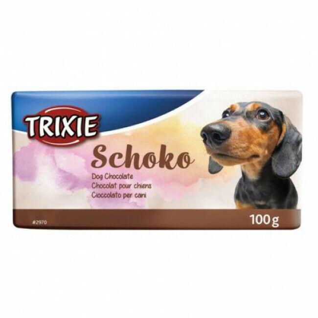 Trixie Tablette chocolat Trixie pour chien Schoko Chocolat noir