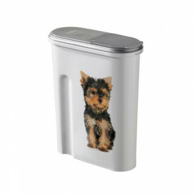 Curver Verseuse à croquettes Curver pour chien Contenance 4 kg (10,4 Litres)