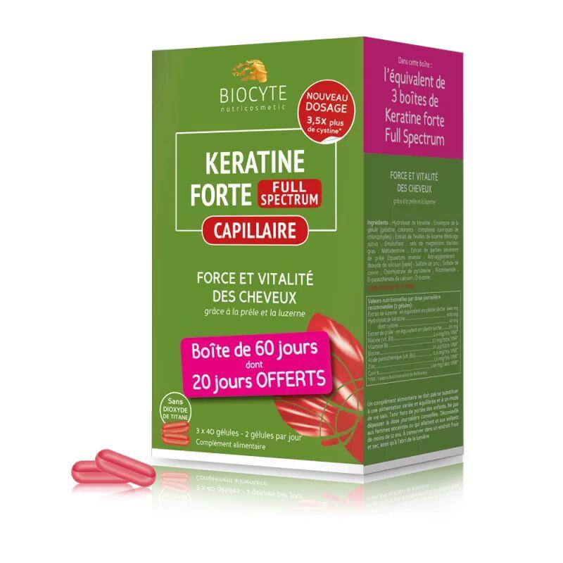 Keratine forte® Full Spectrum - 120 gélules