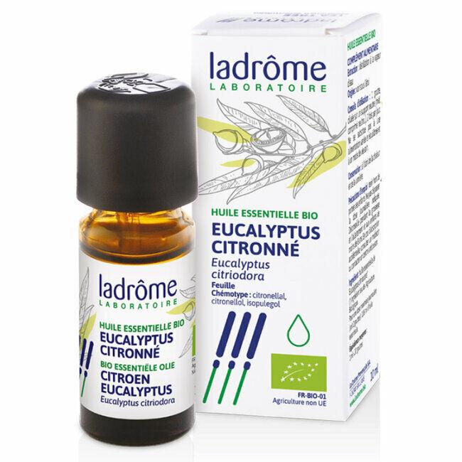 Ladrôme Huile essentielle bio d'Eucalyptus citronné 10ml