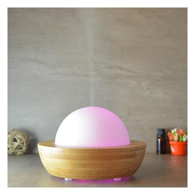 Zen Arôme Diffuseur d'huiles essentielles ultrasonique BELISIA