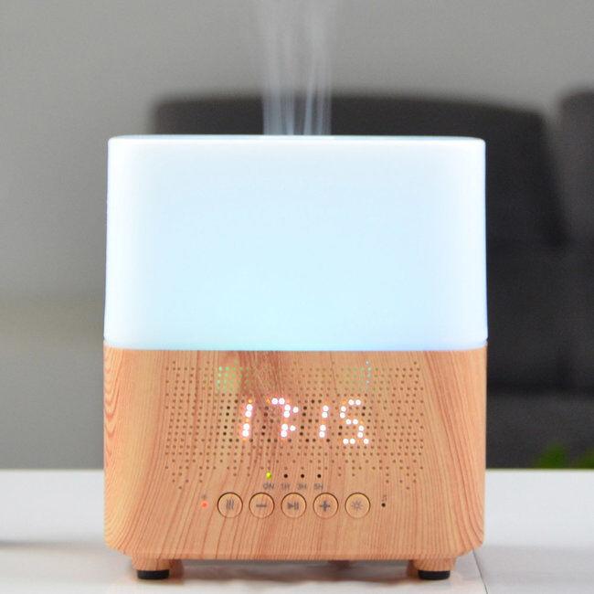 Zen Arôme Diffuseur d'huiles essentielles multifonction TEMPO