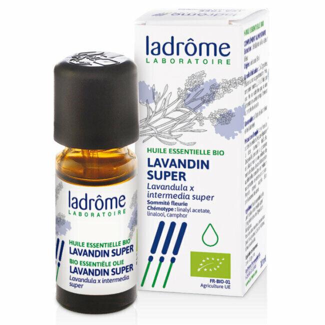 Ladrôme Huile essentielle Lavandin Super bio 10ml