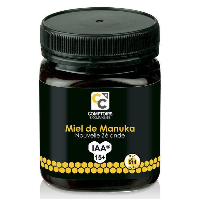 Comptoirs et Compagnies Miel de Manuka IAA 15+ Pot de 250g