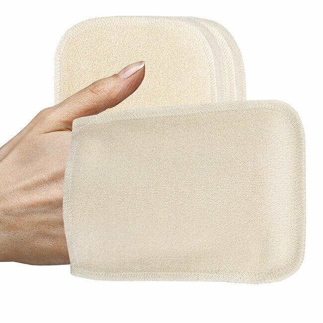 Les Tendances d'Emma Lot 5 gants de change lavables coton bio pour bébé
