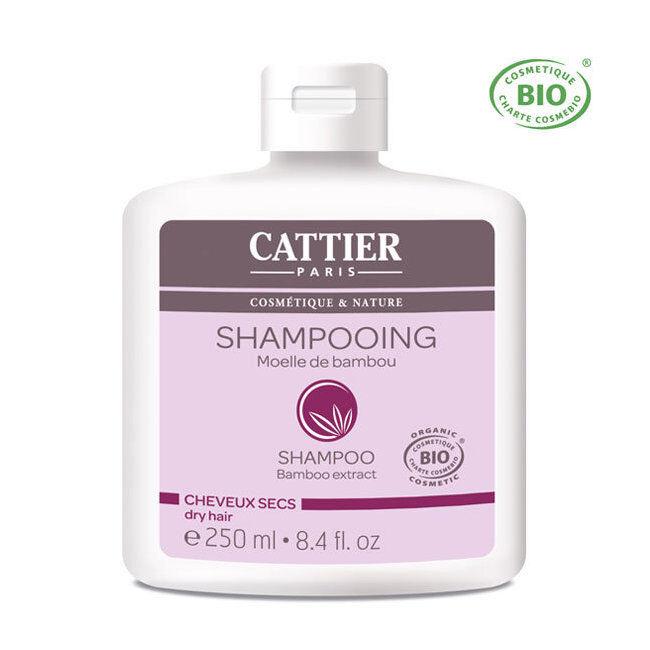 Cattier Shampoing Cheveux secs bio Moelle de bambou 250ml
