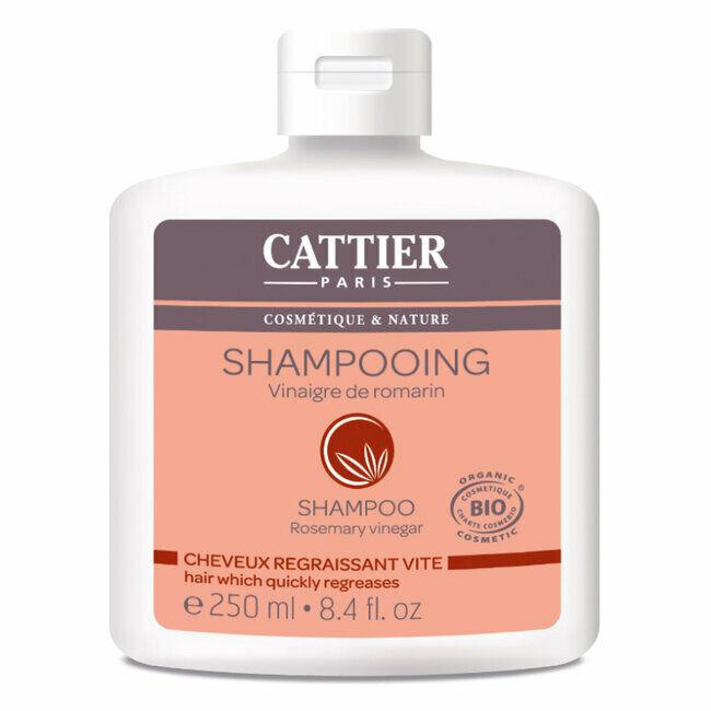 Cattier Shampoing Cheveux regraissant vite Vinaigre de romarin 250ml