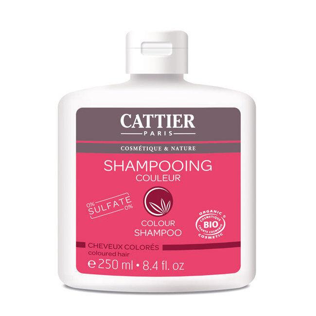 Cattier Shampoing Couleur bio pour Cheveux colorés 250ml