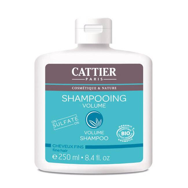 Cattier Shampoing Volume bio pour Cheveux fins 250ml