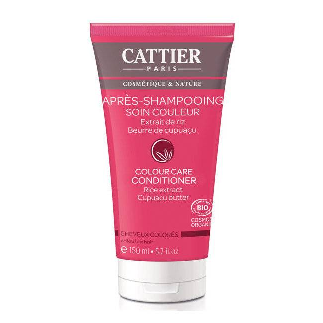 Cattier Après shampoing Soin Couleur bio pour cheveux colorés 150ml