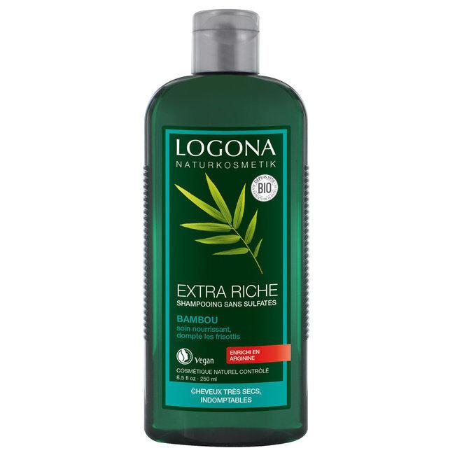 Logona Shampoing Crème bambou bio - Volume et brillance 250ml