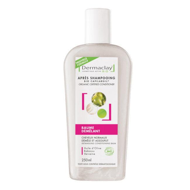Dermaclay Après Shampoing Bio Capilargil Baume démêlant 250ml