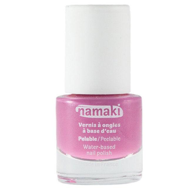 Namaki Vernis à ongles pelable à base d'eau pour enfant - 02 Rose - 7,5ml