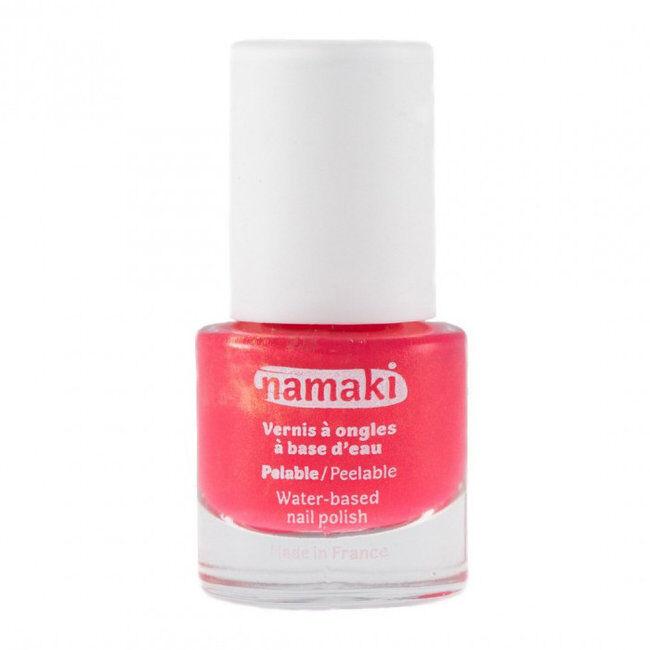 Namaki Vernis à ongles pour enfant à base d'eau - 04 Corail 7,5ml