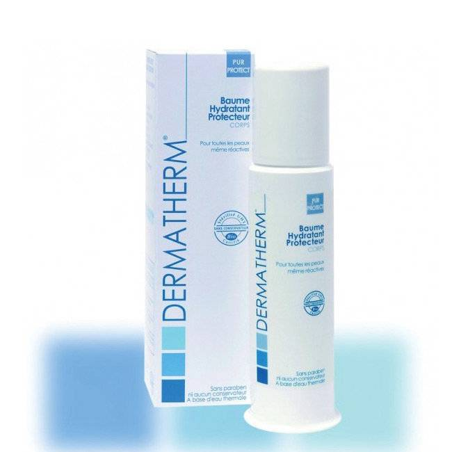 Dermatherm PurProtect Baume hydratant protecteur bio Corps 150ml